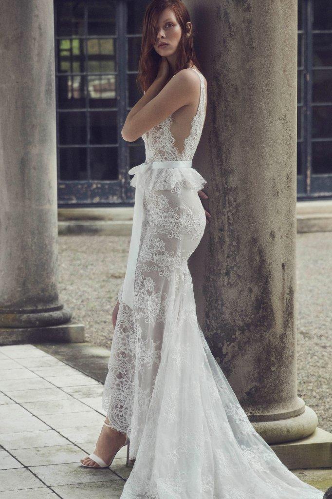 莫尼克·鲁里耶 Monique Lhuillier 2019/20秋冬婚纱礼服发布 - Bridal Fall 2019