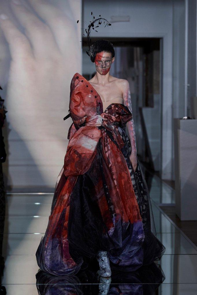 法国 巴黎 走秀(Runway) 2019/20秋冬高级定制 女装 晚礼服裙
