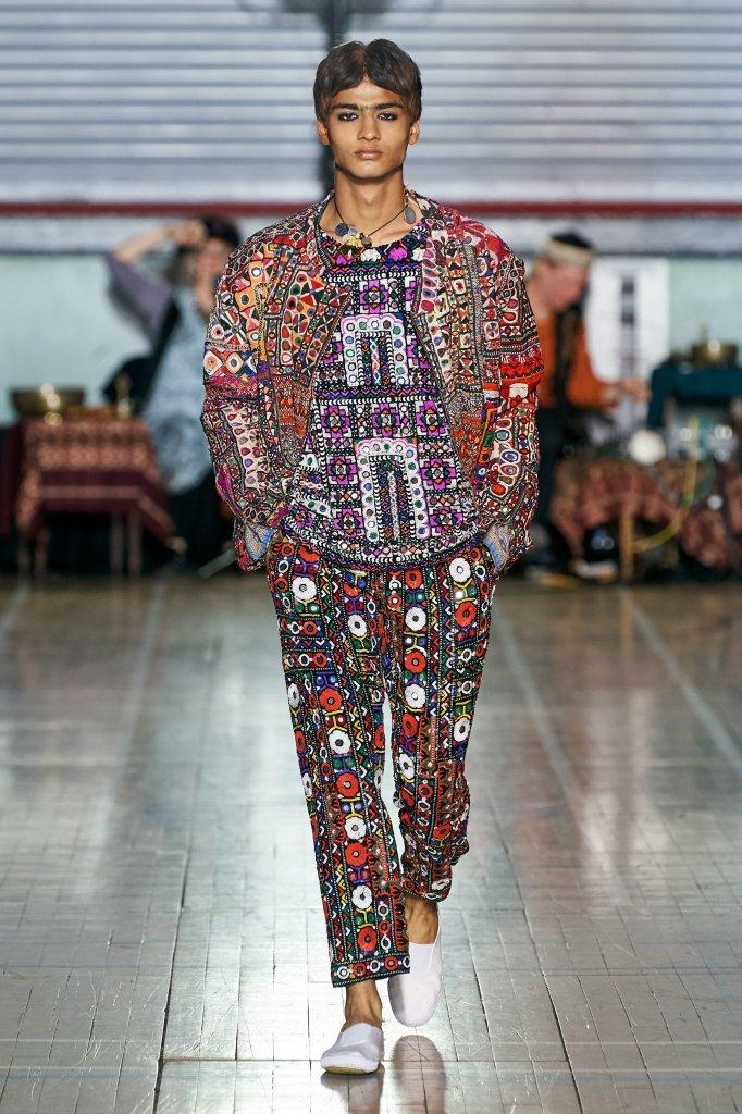 阿西施 英国 伦敦 走秀(Runway) 2020春夏 女装 男装