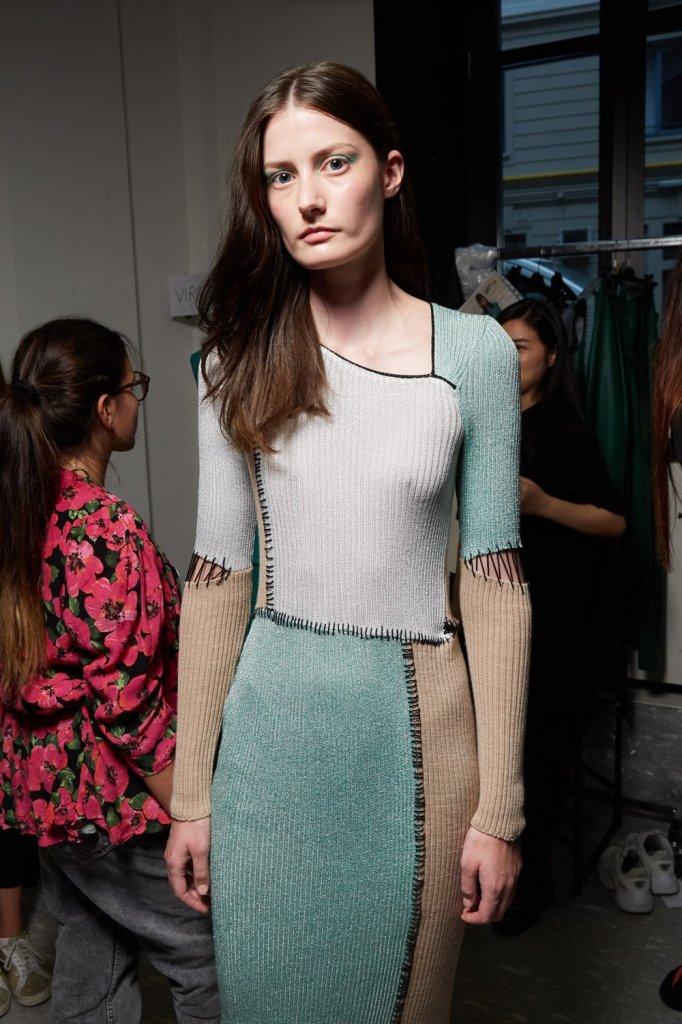 克里斯蒂亚诺·布兰妮 Cristiano Burani 2020春夏高级成衣秀(后台妆容) - Milan Spring 2020