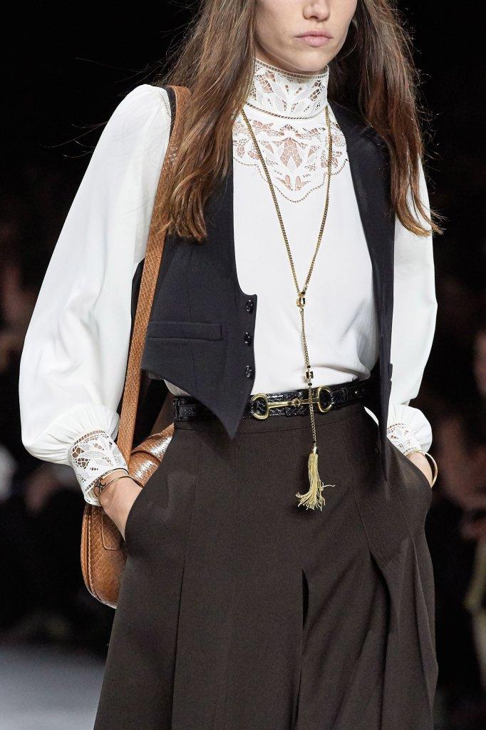 思琳 Celine 2020春夏高级成衣秀(细节) - Paris Spring 2020