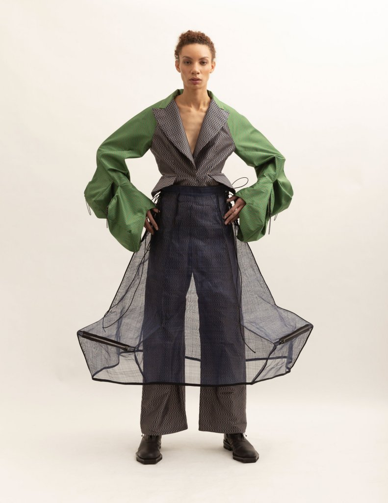 英国 伦敦 2020/21秋冬 女装 休闲西服 休闲裤