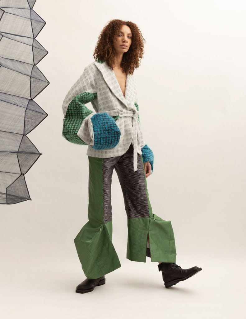 英国 伦敦 2020/21秋冬 女装 休闲西服 阔腿裤