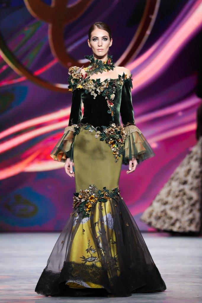 瓦连京·尤达什金 俄罗斯 莫斯科 走秀(Runway) 2020春夏高级定制 女装