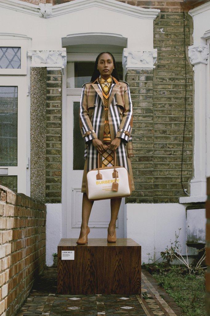 巴宝莉·珀松 英国 伦敦 2021早春 女装