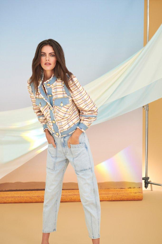 美国 纽约 2021早秋 女装 实用夹克 经典牛仔裤